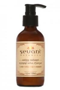 Sevani ageless radiance aha cleanser bottle image