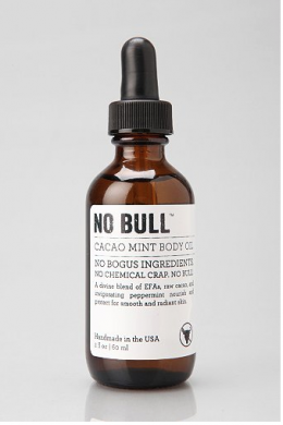 No Bull Body Oil - Cacao + Mint