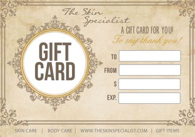 Gift Certificates by Dollar Amount
