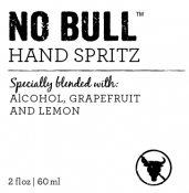 No Bull Alcohol Hand Spritz